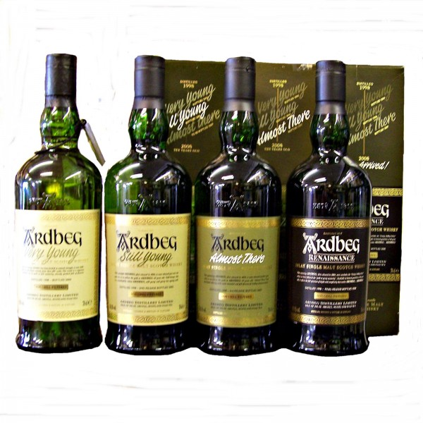 Ardbeg 1998 Single Malt Whisky Set
