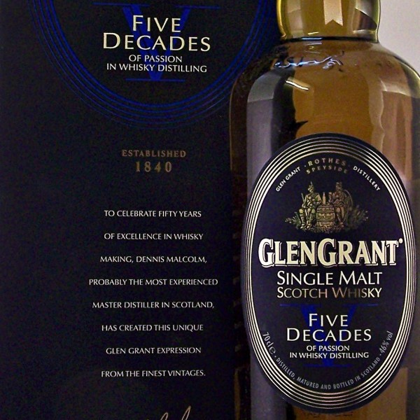 Glen Grant Five Decades Single Malt Whisky