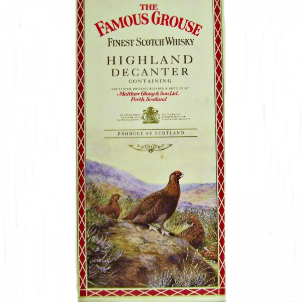 Famous Grouse Highland Decanter Blended Scotch