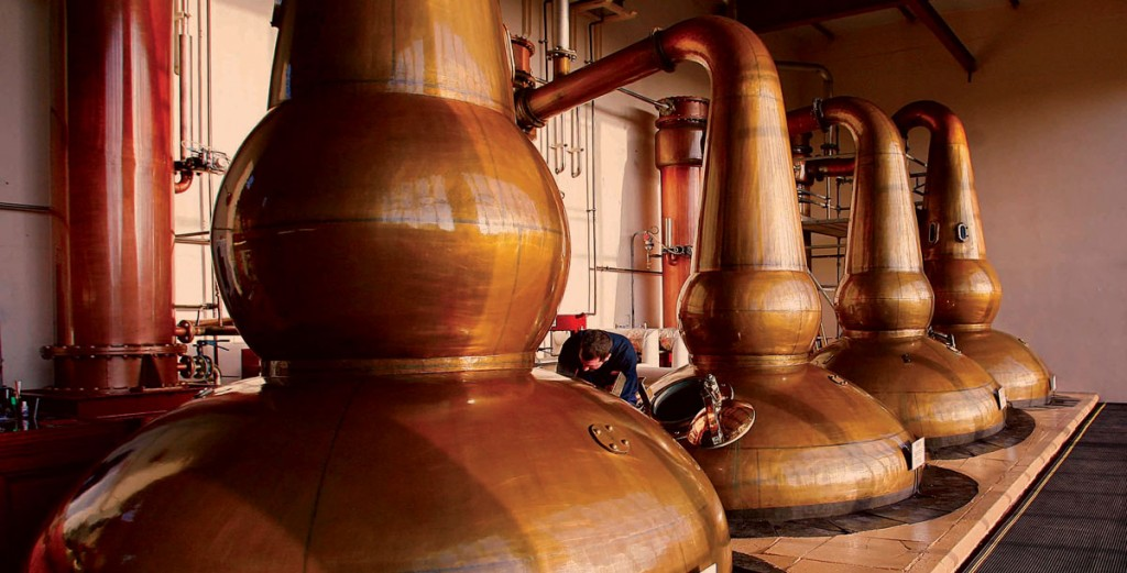 The Glendronach Distillery Stills