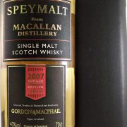 Speymalt from Macallan Distillery 2007