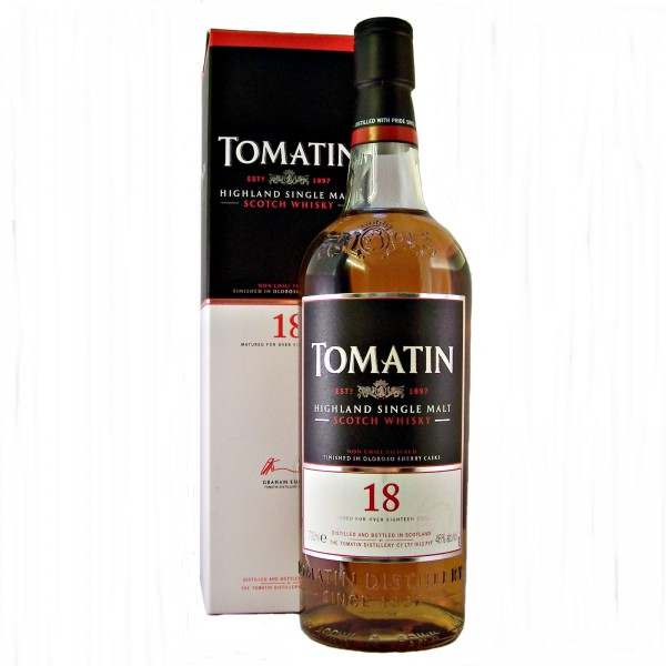 Tomatin 18 year old Single Malt Whisky