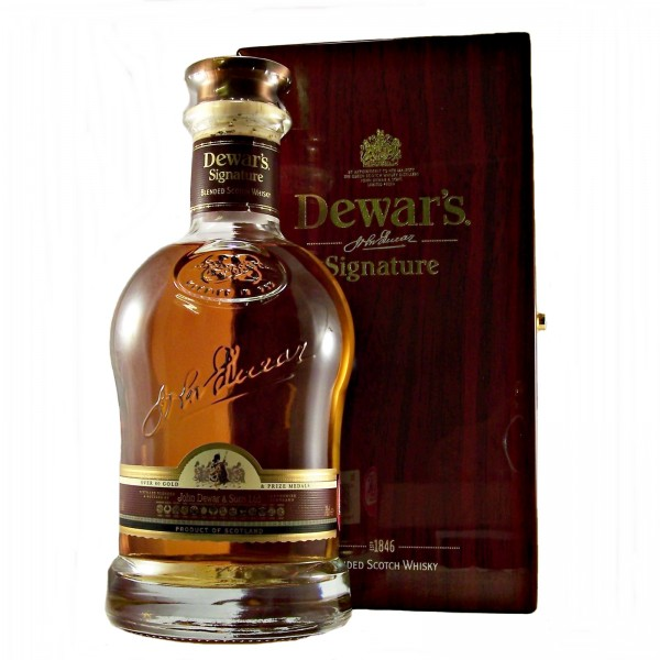 Dewars Signature Whisky