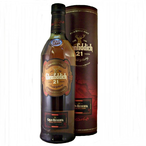 Glenfiddich 21 year old Gran Reserva Whisky