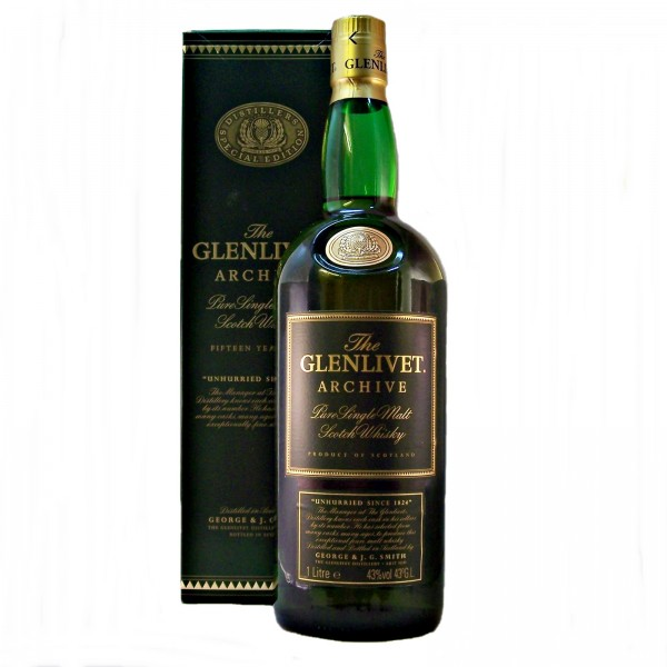 Glenlivet Archive 15 year old Whisky