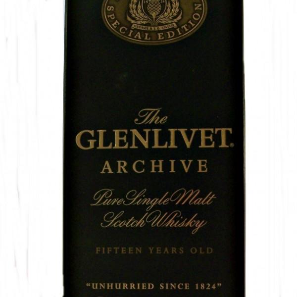 Glenlivet Archive 15 year old