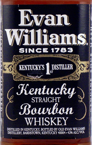 Whiskey in Kentucky is spelt with the 'e'