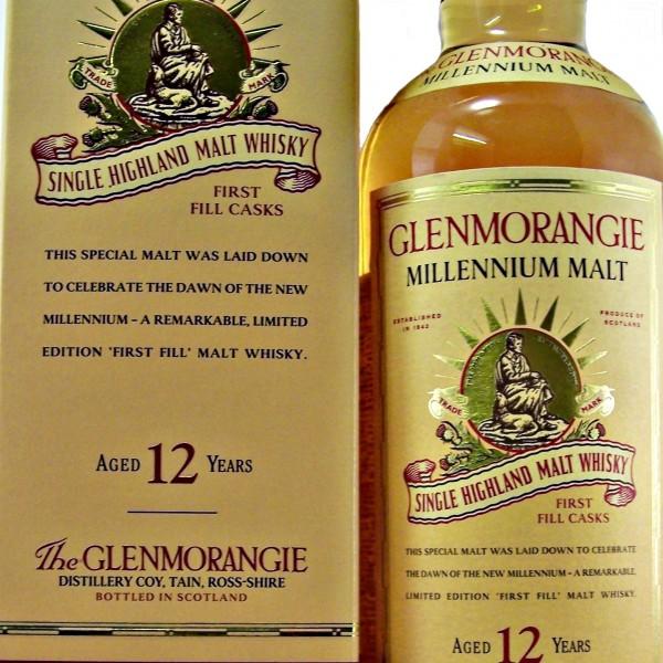 Glenmorangie Millennium Malt 12 year old whisky