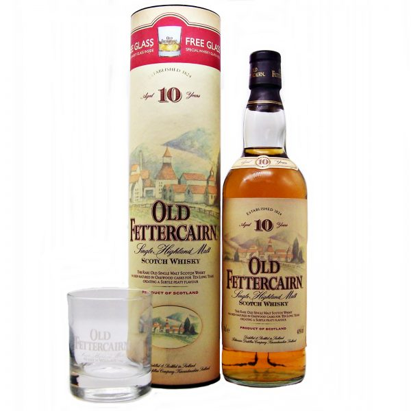 Old Fettercairn 10 year old Whisky