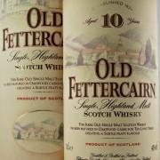 Old Fettercairn 10 year old Whisky Distillery