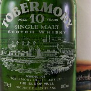 Tobermory 10 year old Whisky old style