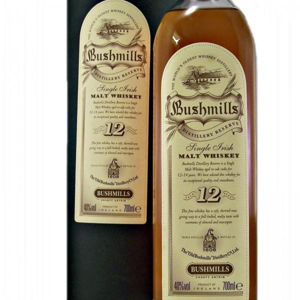 Bushmills Distillery Reserve 12 year old