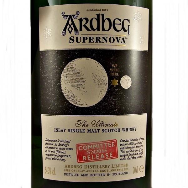 Ardbeg Supernova Committee Release SN2015