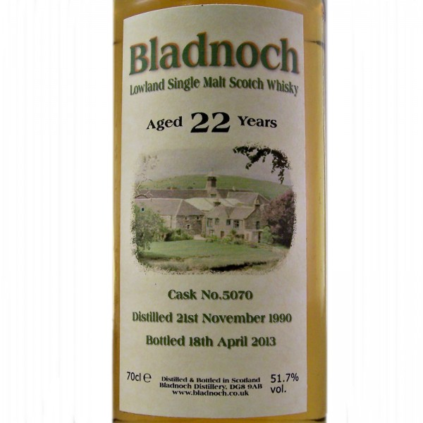 Bladnoch 22 year old