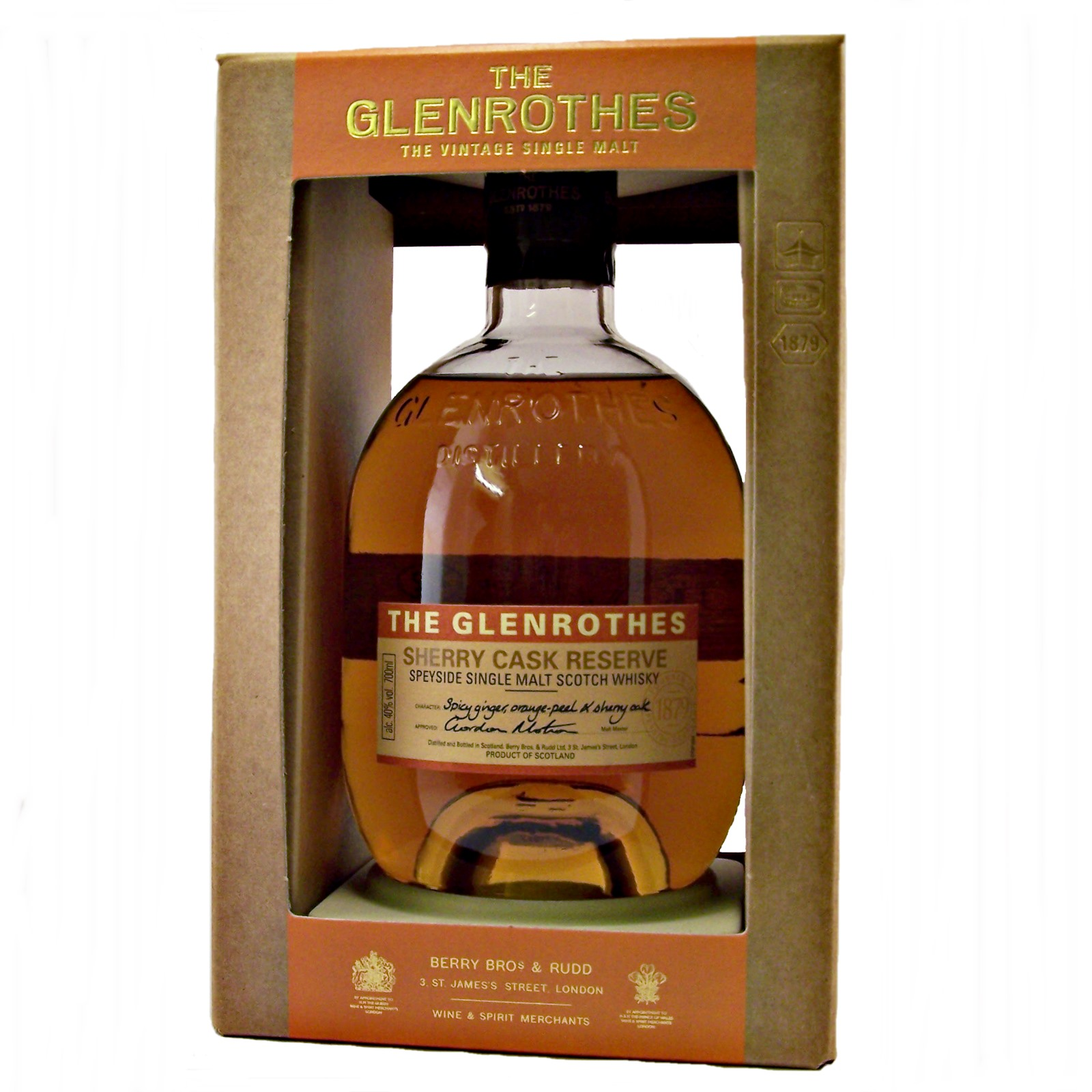 Glenrothes Makers Cut 0,7L (48,8% Vol.) - Glenrothes - Whisky
