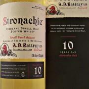 Stronachie Single Malt Whisky 10 year old