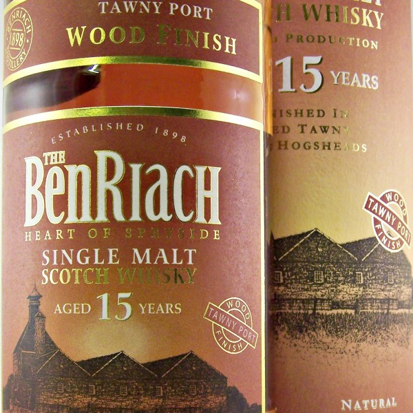 Benriach 15 year old Tawny Port finish whisky