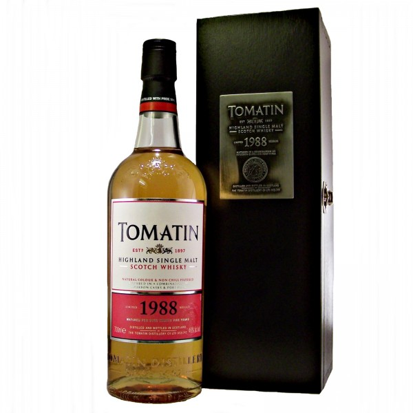 Tomatin 1988 Single Malt Whisky