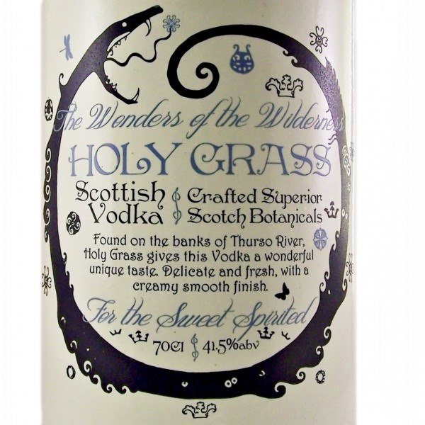 Holy Grass Vodka Dunnet Bay Distillers