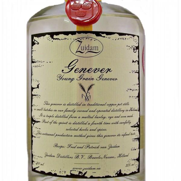 Zuidam Young Grain Genever Dutch Gin