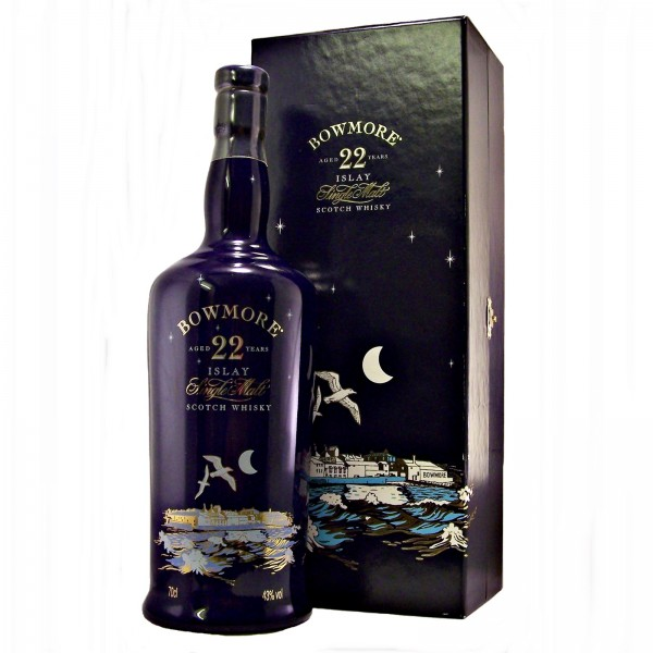 Bowmore 22 year old Blue Ceramic