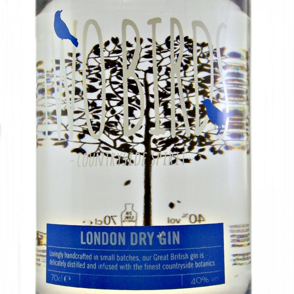 Two Birds London Dry Gin countryside spirit
