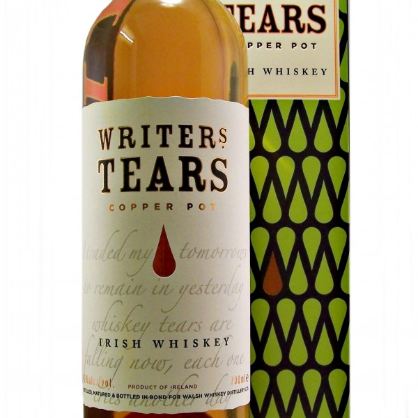 Writers Tears Irish Whiskey copper pot