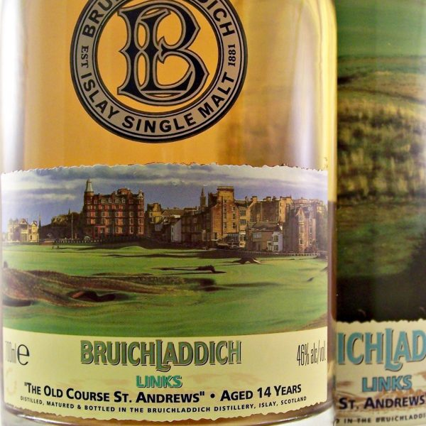 Bruichladdich Links Old Course St Andrews Whisky