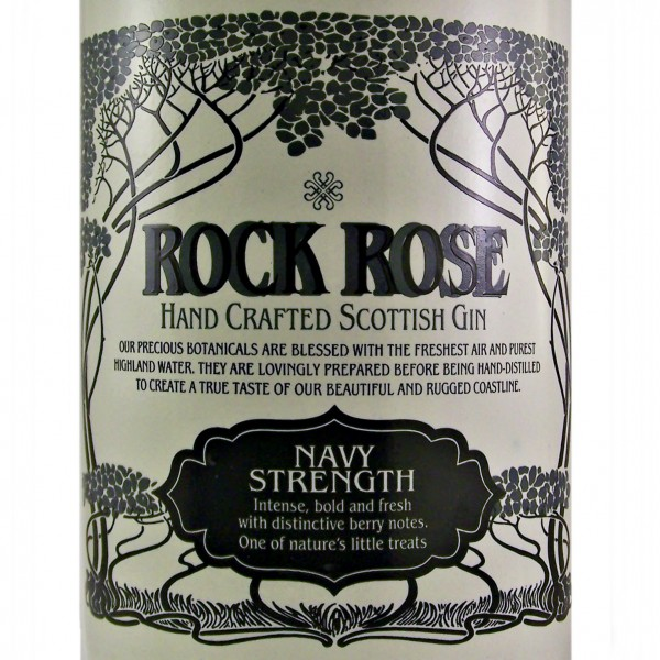Rock Rose Navy Strength Scottish Gin