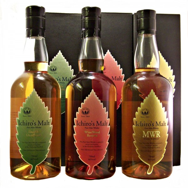 Ichiros Malt Japanese Whisky Set