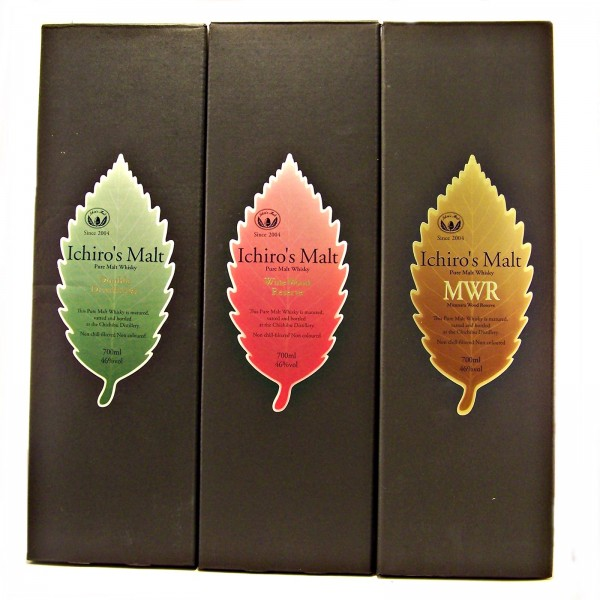 Very Rare Ichiros Malt Japanese Whisky Set