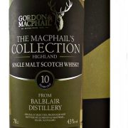 Balblair Whisky 10 year old MacPhails Collection