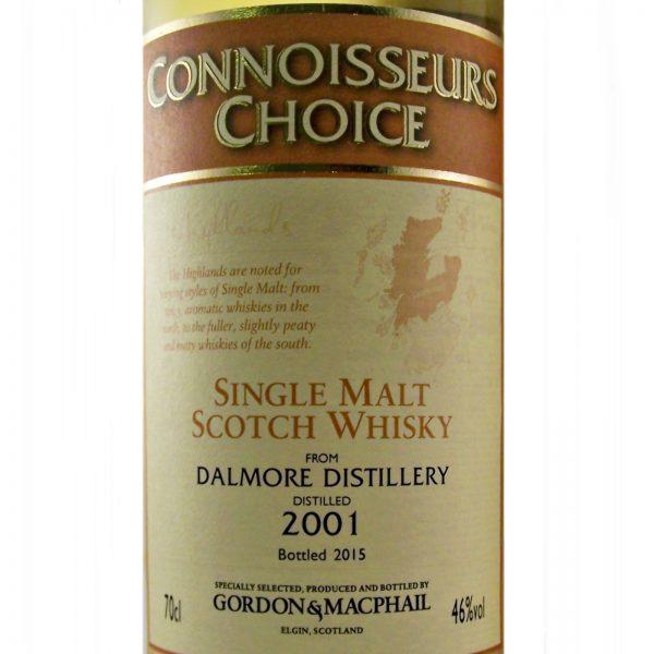 Dalmore 2001 Connoisseurs Choice Single Malt Whisky