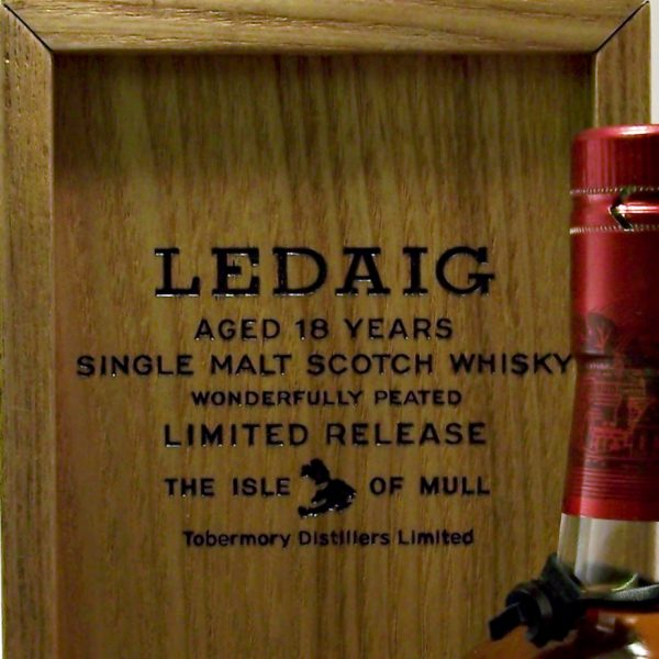 Ledaig 18 year old Limited Release batch 1