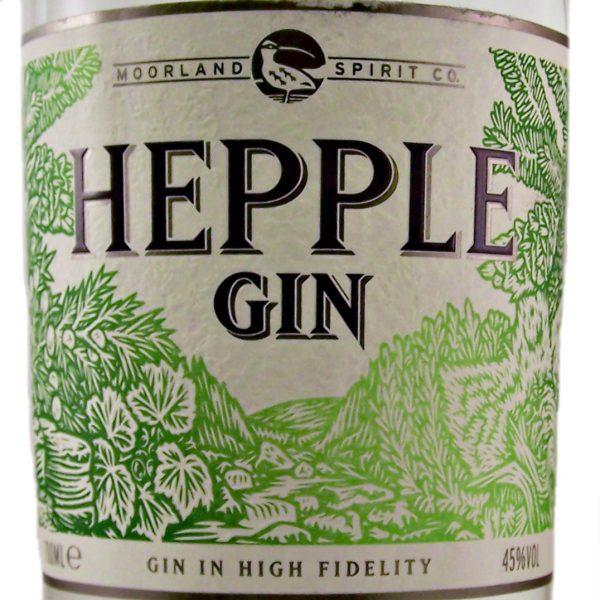 Hepple Gin in High Fidelity