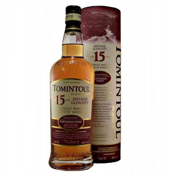 Tomintoul Portwood Finish 15 year old