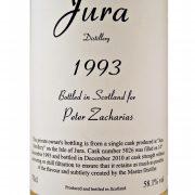 Jura 1993 Peter Zacharias Single Malt Whisky