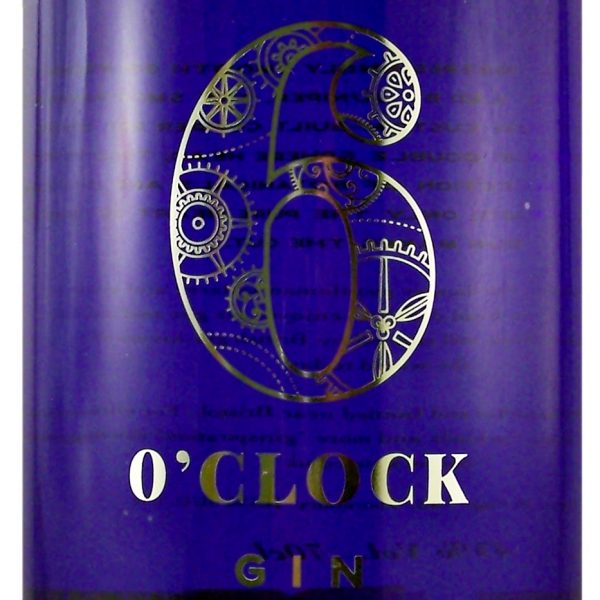 6 O'Clock Gin small batch