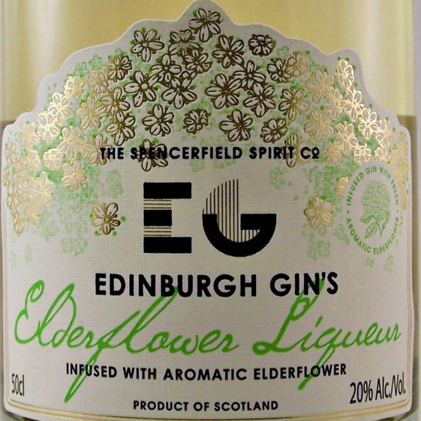 Edinburgh Gin's Elderflower Liqueur
