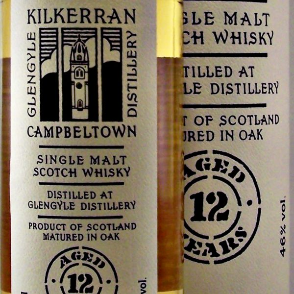 Kilkerran 12 year old Glengyle Whisky