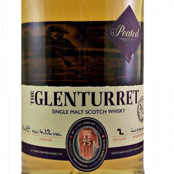Glenturret Peated Single Malt Scotch Whisky