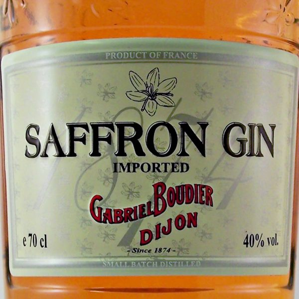 French imported Saffron Gin