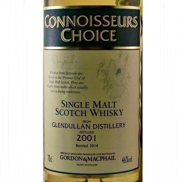 Glendullan Single Malt Whisky 2001 Connoisseurs Choice