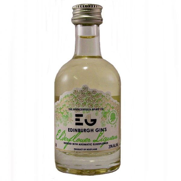 Edinburgh Gin Elderflower Liqueur Miniature