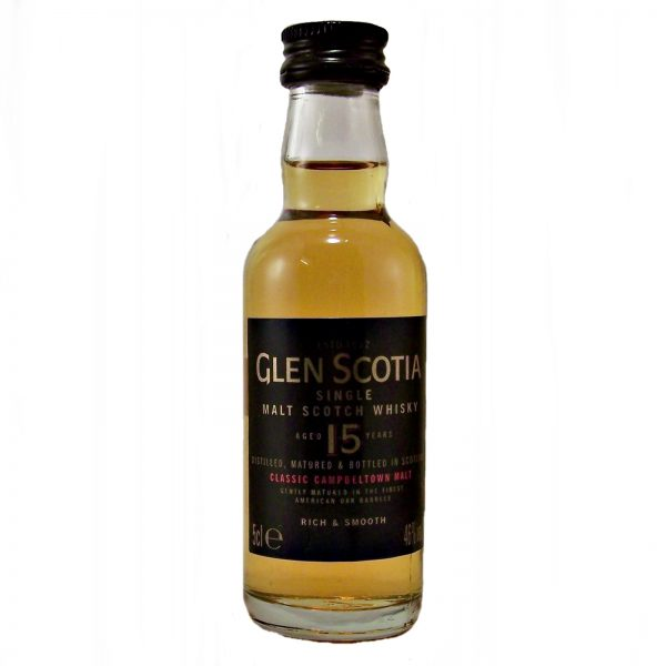 Glen Scotia 15 year old Whisky Miniature