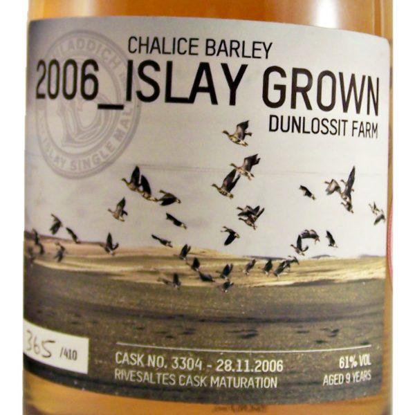 Bruichladdich Valinch 2006 Islay Grown Chalice Barley