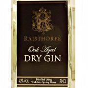 Raisthorpe Oak Aged Dry Yorkshire Gin