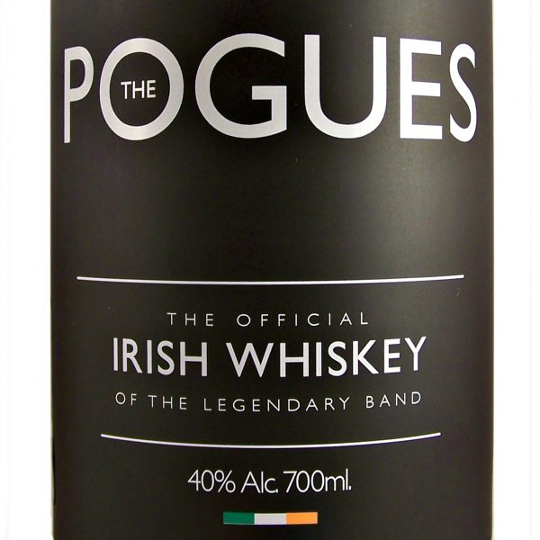 The Pogues Official Irish Whiskey