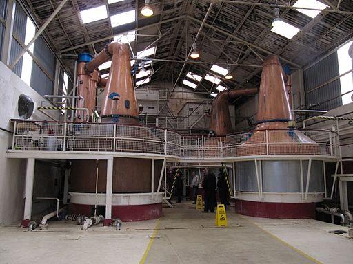 Ben Nevis Whisky Distillery Stills