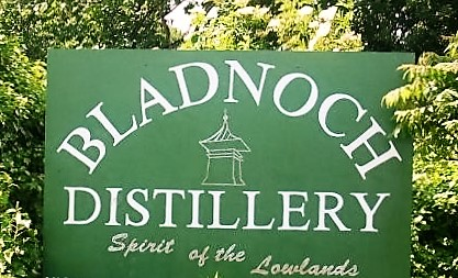 Bladnoch Whisky Distillery Sign